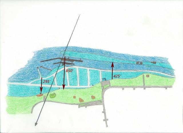 Morrisburg Waterfront Old - My Sketch with Distances web